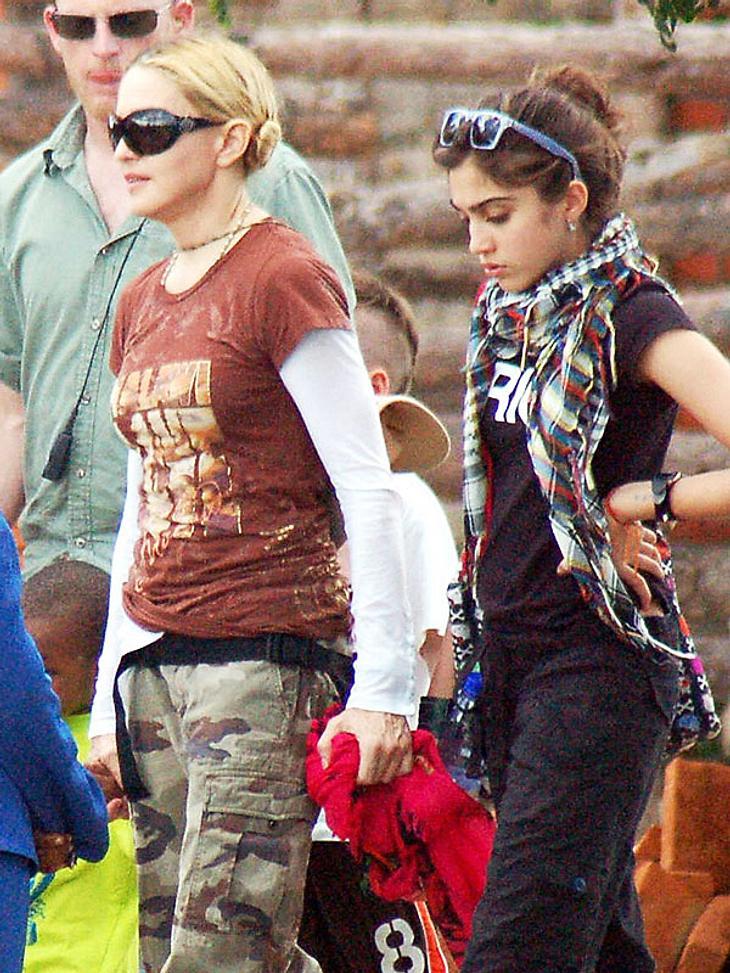 Madonna kennt spezielle Mittel und Wege, um Töchterchen Lourdes zum Nichtrauchen zu bewegen...