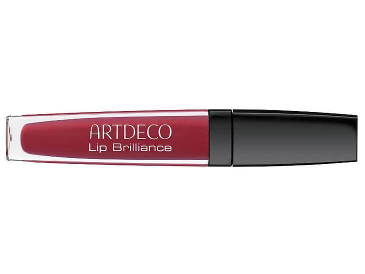 ,Make-up-Trends: Rote LippenAlternativer: Roter Lipgloss (z. B. von Artdeco)WEM STEHT'S? Eigentlich jeder Frau. Sehr hellhäutige Frauen sollten jedoch ein nicht zu starkes Rot wählen.Nicht machen Zusätzlich noch die Augen betonen.