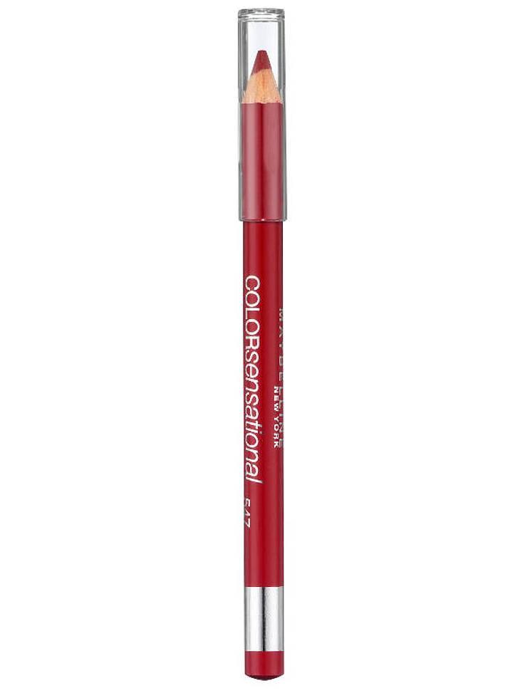 """,Make-up-Trends: Rote LippenSo wird's gemachtBei roten Lippen musst Du unbedingt auf sauber gezeichnete Konturen achten. Dafür einfach die Lippenkonturen zuerst mit einem Lipliner in Lippenstiftfarbe nachzeichnen. (z. B. von """"Colorsens"""