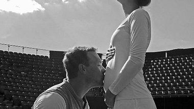 Tennis-Star Mandy Minella ist schwanger! - Foto: Instagram/ Mandy Minella