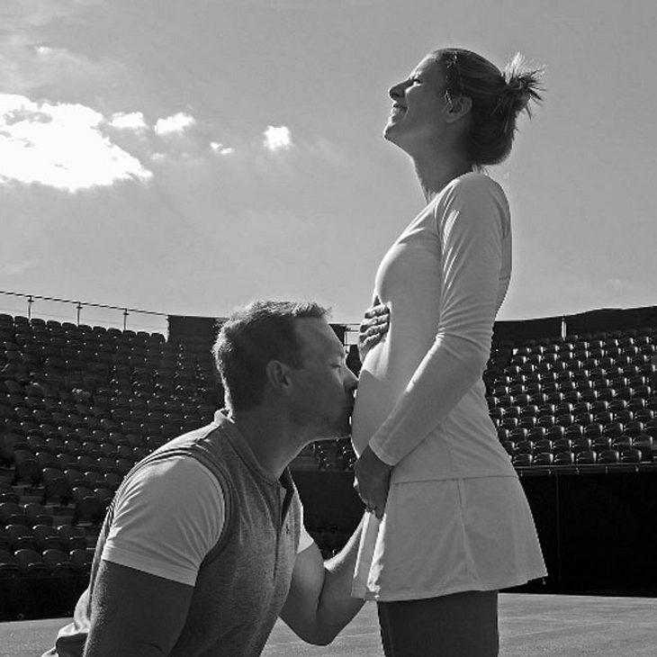 Tennis-Star Mandy Minella ist schwanger!