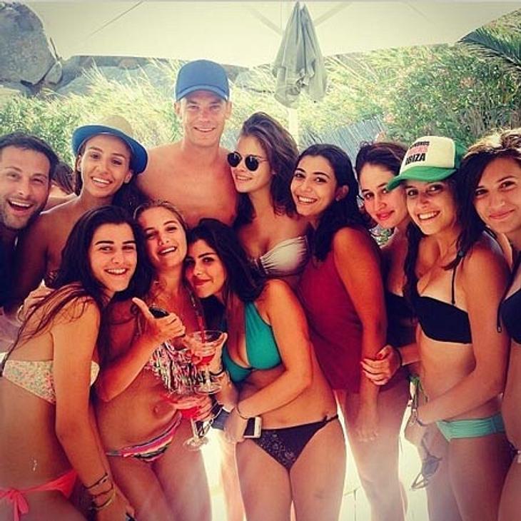 Manuel Neuer genießt seinen Urlaub in vollen Zügen