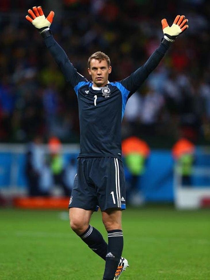 Manuel Neuer kann sich mit dem Weltmeistertitel unsterblich machen