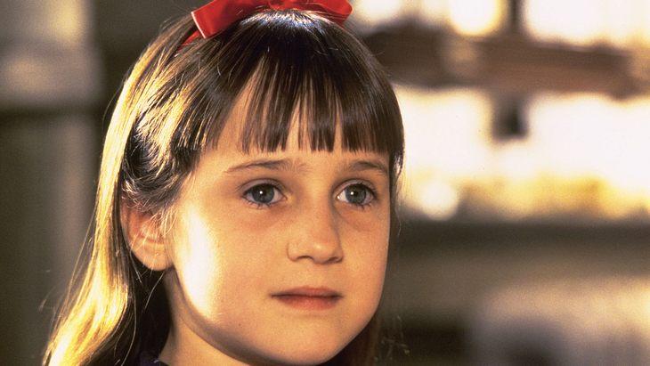 """Mara Wilson als """"Matilda"""" im Film"""