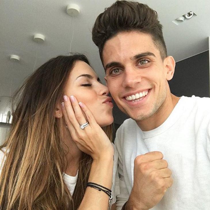 Marc Bartras Freundin Melissa Jimenez hat einen besonderen Platz in seinem Herzen