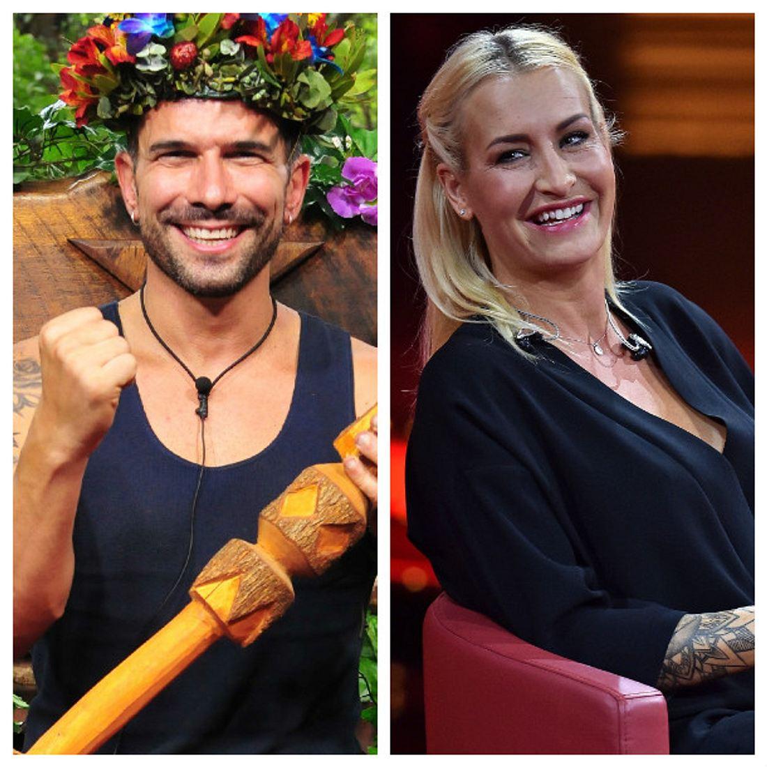 Marc Terenzi ist Dschungelkönig und Sarah Connor freut sich für ihn