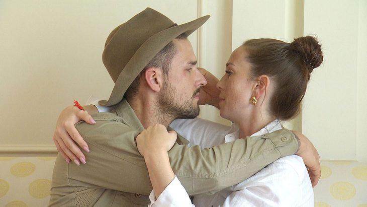 Marco Cerullo und Christina Grass