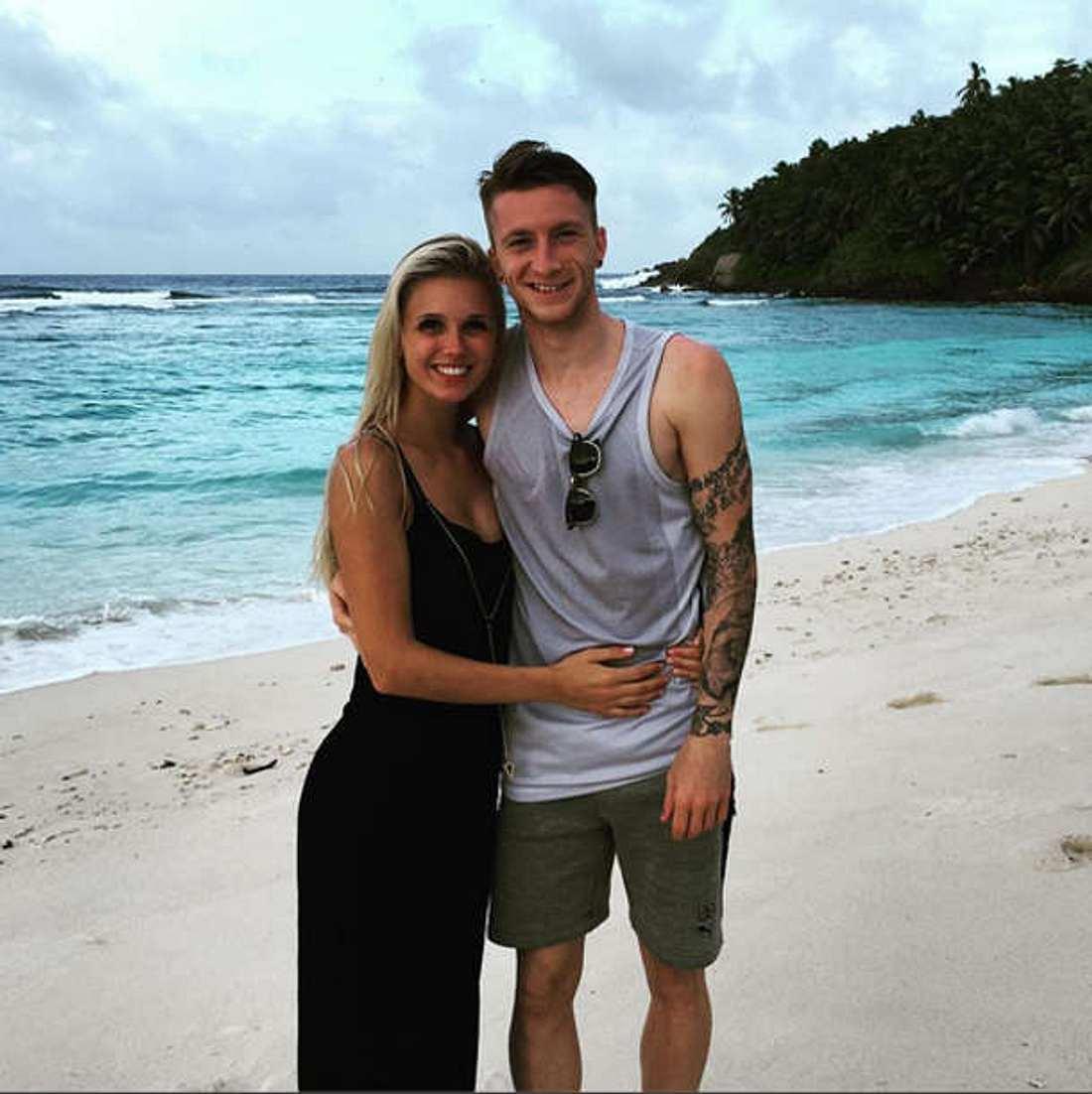 Marco Reus Freundin Scarlett Urlaub