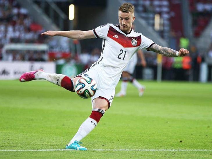 Die Frisur blieb heil, sein Fuß leider nicht. Wenige Tage vor Abflug nach Brasilien platzte für Marco Reus der WM-Traum wegen einer Verletzung
