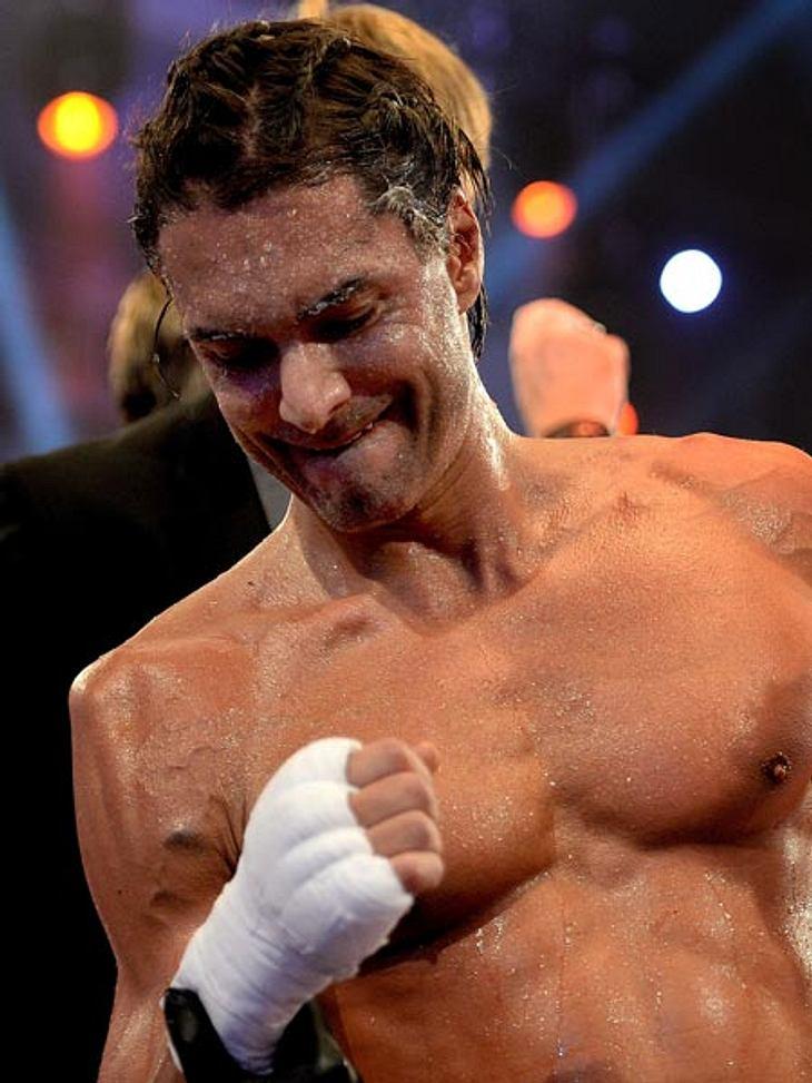 Marcus Schenkenberg verletzte sich beim Promi Boxen