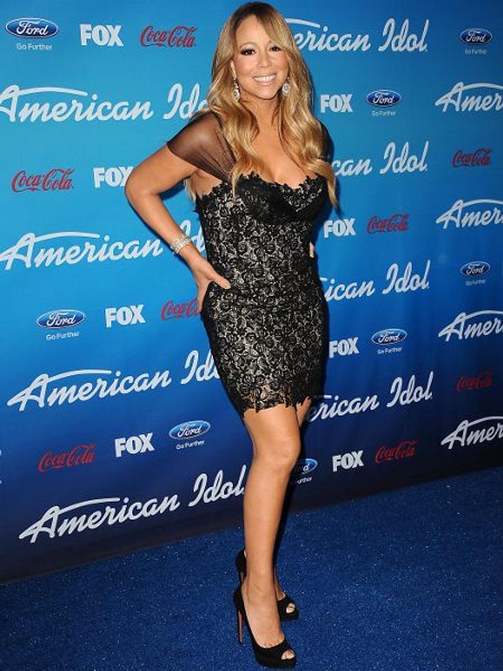 Mariah Carey (43)Maria Carey sammelt in ihrem 90 Quadratmeter großen, begehbaren Kleiderschrank die feinsten Designerroben. Festhalten! HIER geht's rein >>