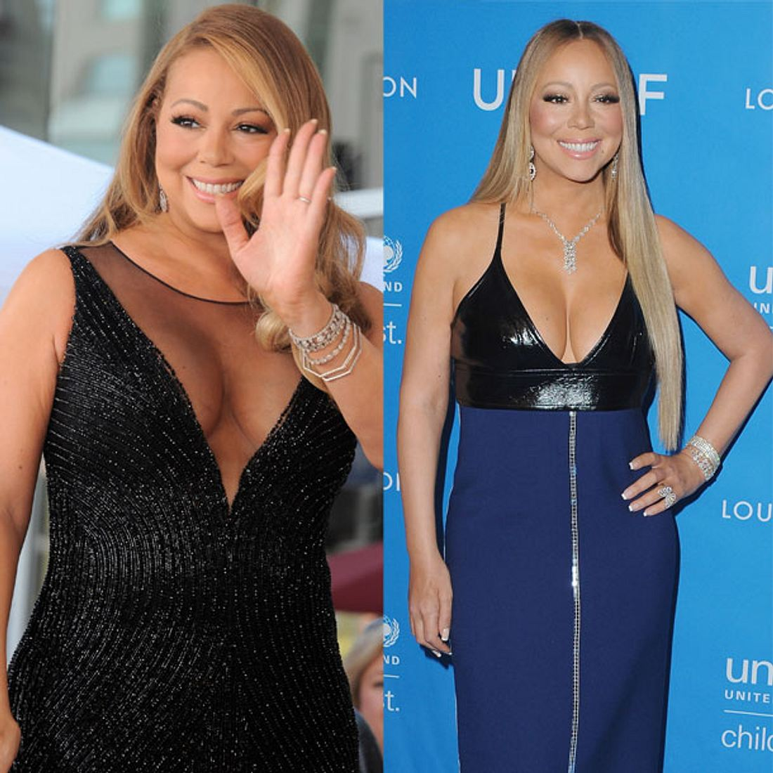 Mariah Carey abgenommen Figur Gewicht