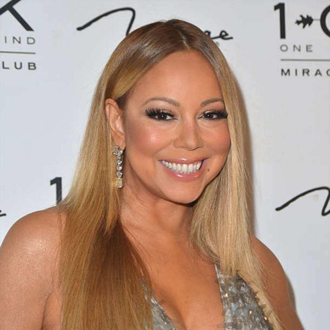 Mariah Carey Auftritt schieben