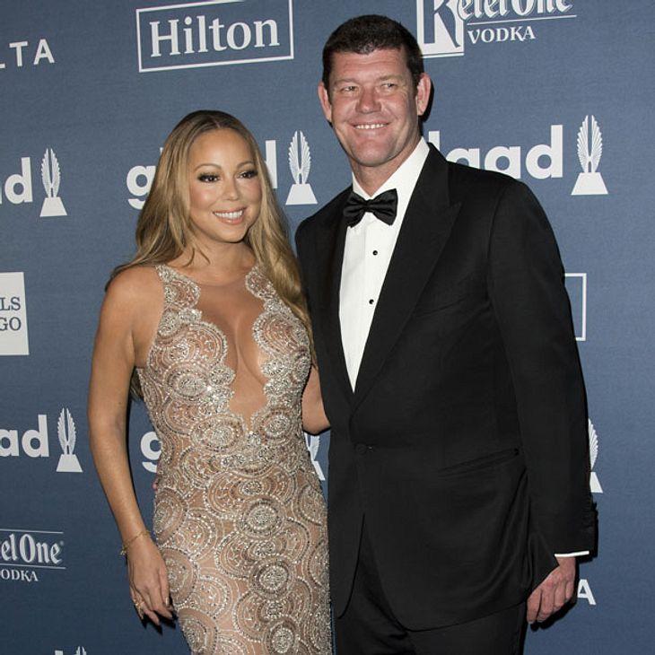 Platzt die Hochzeit von Mariah Carey und James Packer?