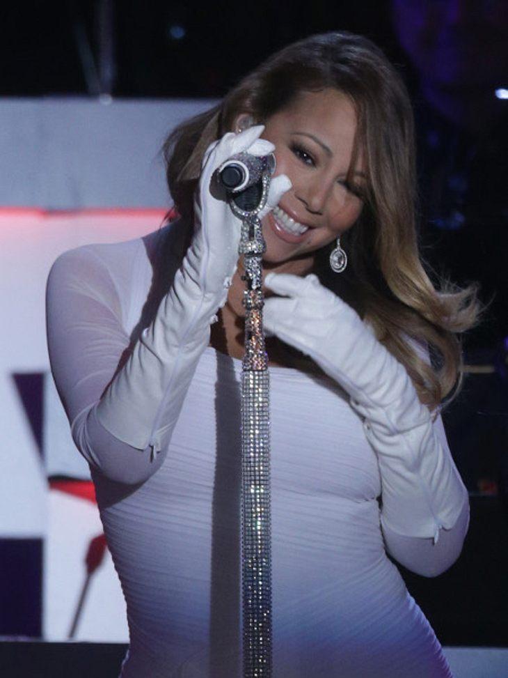 Mariah Carey gab ein kontroverses Konzert
