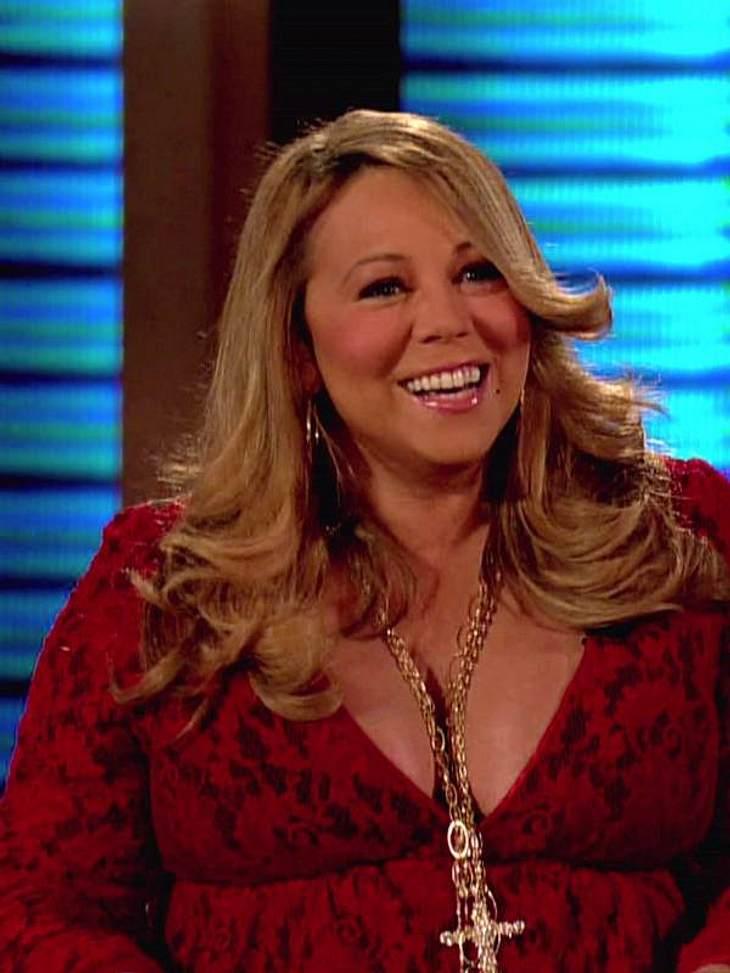 Keine Frage: Mariah Carey hat in der Schwangerschaft ordentlich zugelegt