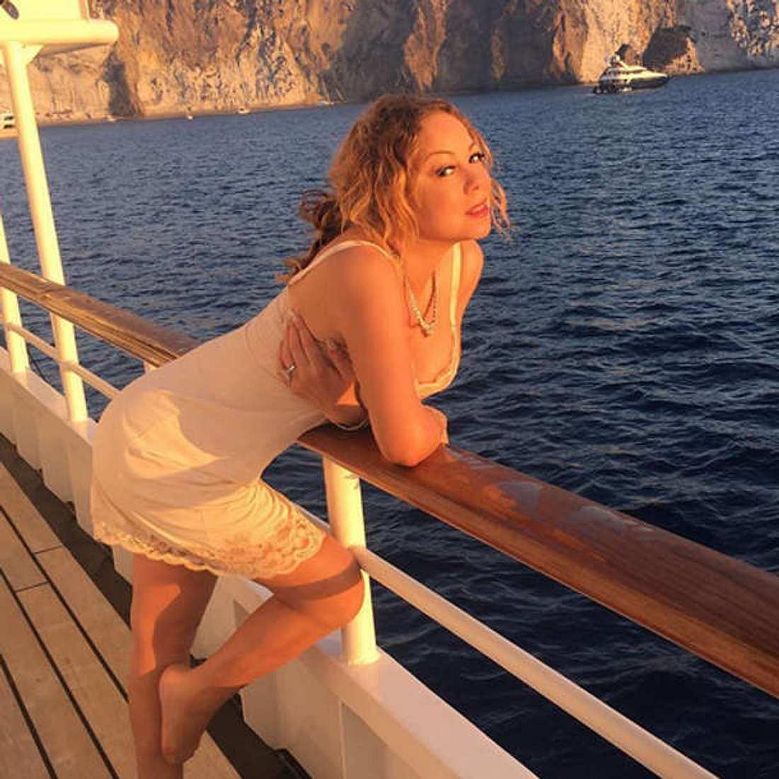Mariah Carey Unterwäsche