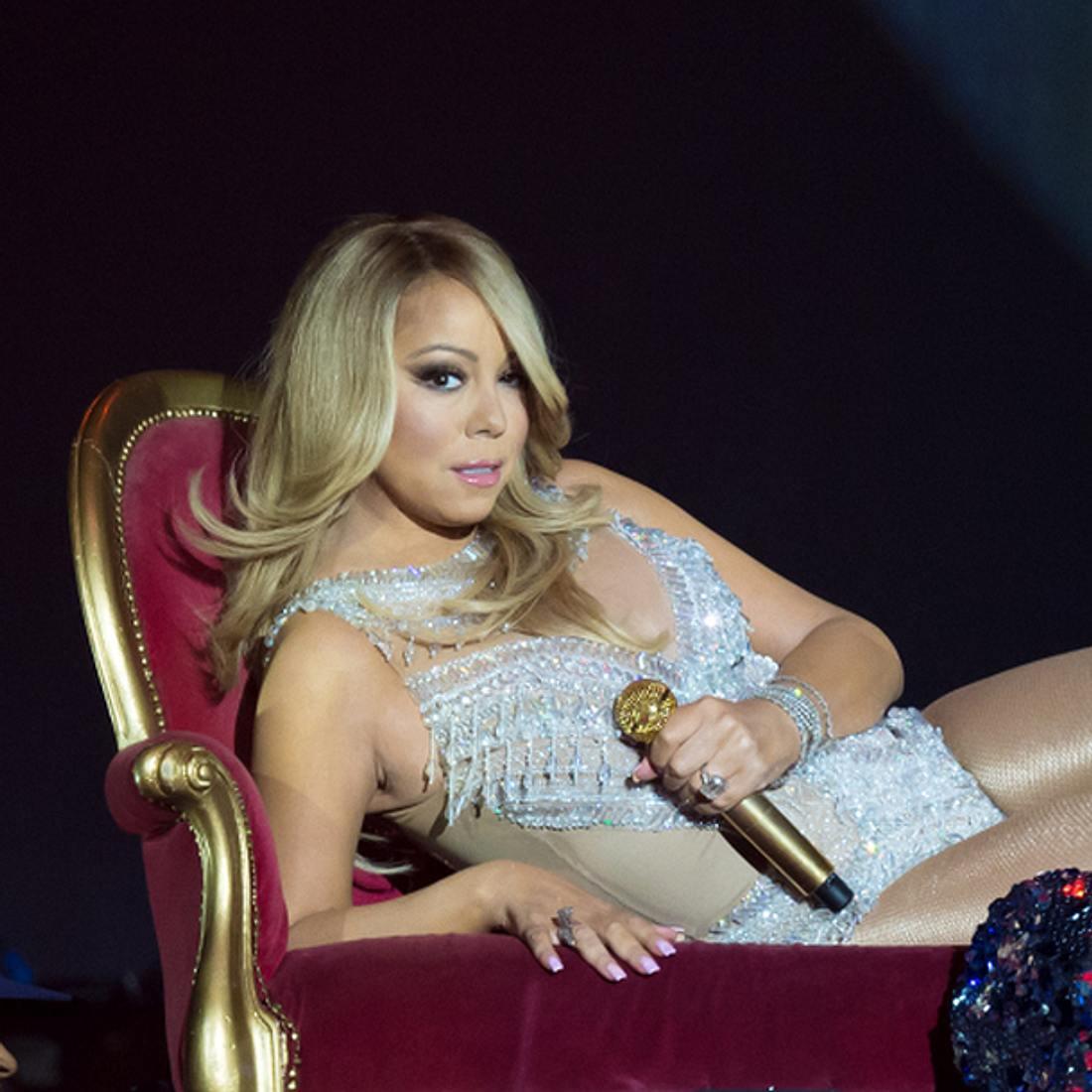 Mariah Carey mimt mal wieder die Diva