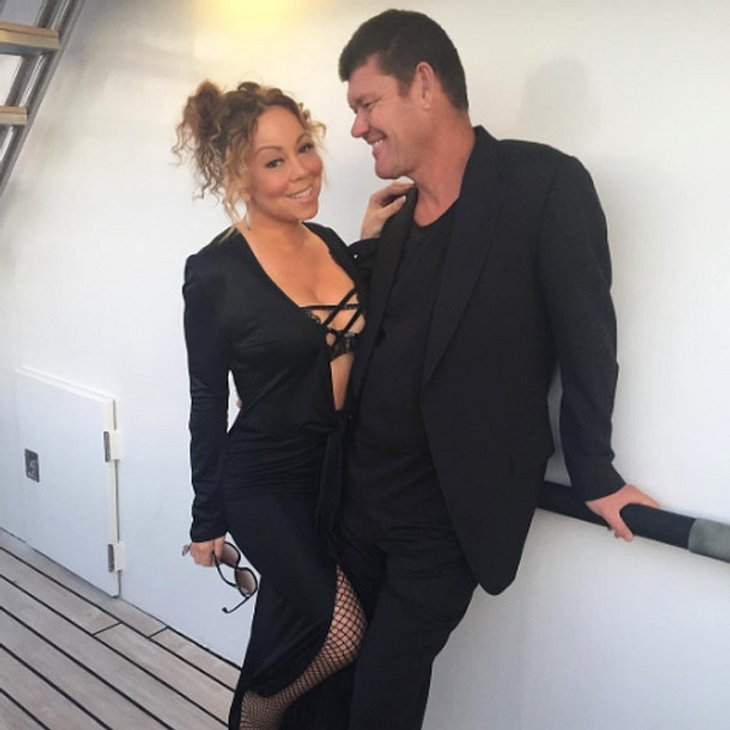 Mariah Carey und James Packer ließen beim Feiern nichts anbrennen