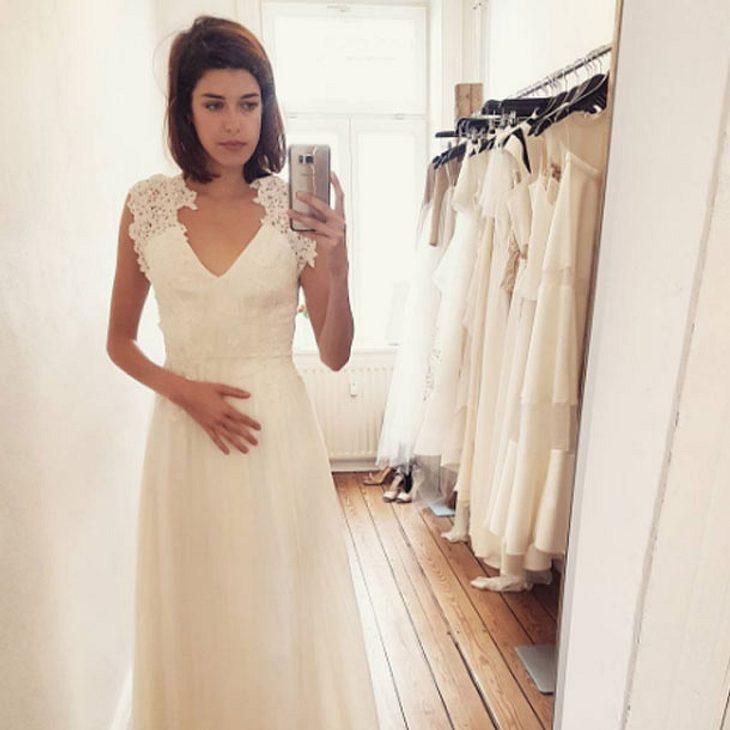 Schöne Braut Marie Nasemann Zeigt Sich Im Hochzeitskleid Intouch