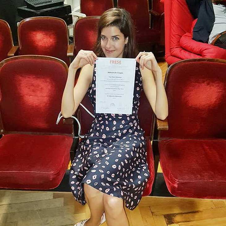 Marie Nasemann hat ihr Schauspiel-Studium beendet!