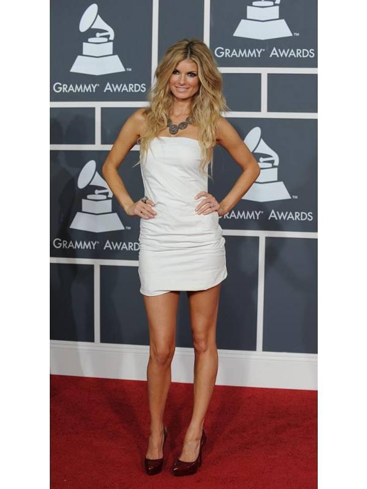 Grammy-Style: Lange Robe war gestern - heute ist Mini angesagt