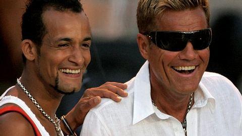 Da waren sie noch vereint: Mark Medlock und Dieter Bohlen - Foto: Getty Images