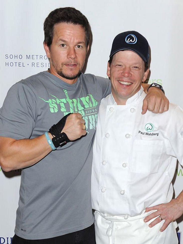 Mark Wahlberg mit seinem Bruder Paul