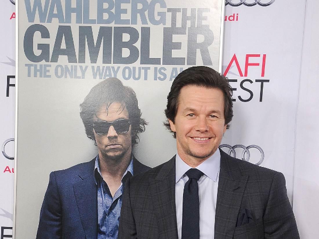 Bei der Premiere seines Films waren Mark Wahlberg die Strapazen deutlich anzusehen