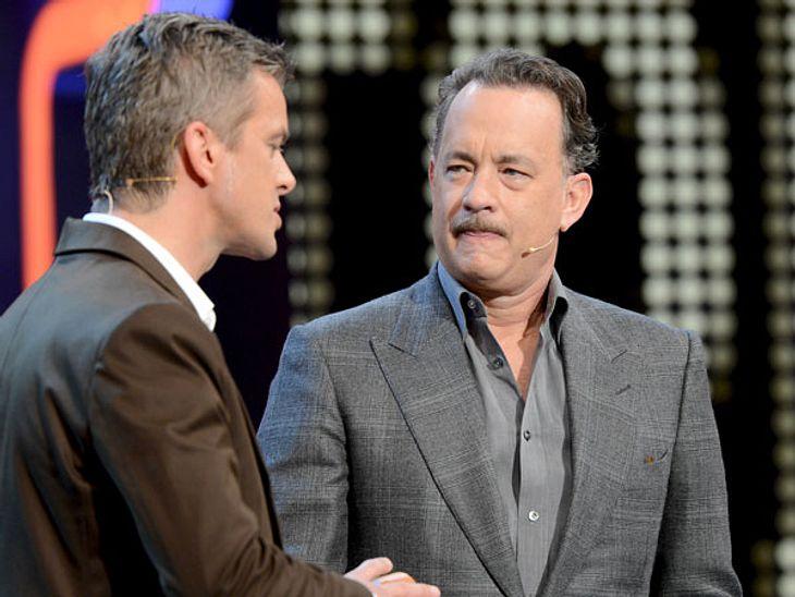 """""""Wetten, dass...?"""": Zwischen Markus Lanz und Star-Gast Tom Hanks herrscht dicke Luft"""