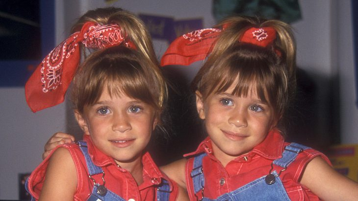 Zwillinge Mary-Kate und Ashley Olsen 1993