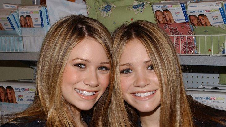 Zwillinge Mary-Kate und Ashley Olsen 2000
