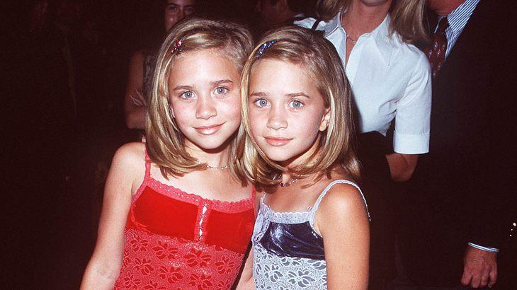 Olsen-Zwillinge Mary-Kate und Ashley 1998