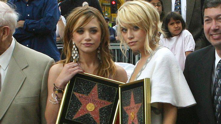 Zwillinge Mary-Kate und Ashley Olsen 2004