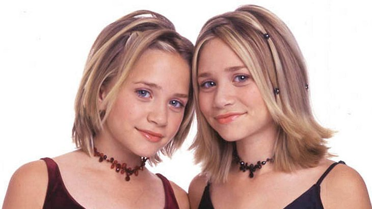 Mary-Kate und Ashley Olsen im Jahr 2000