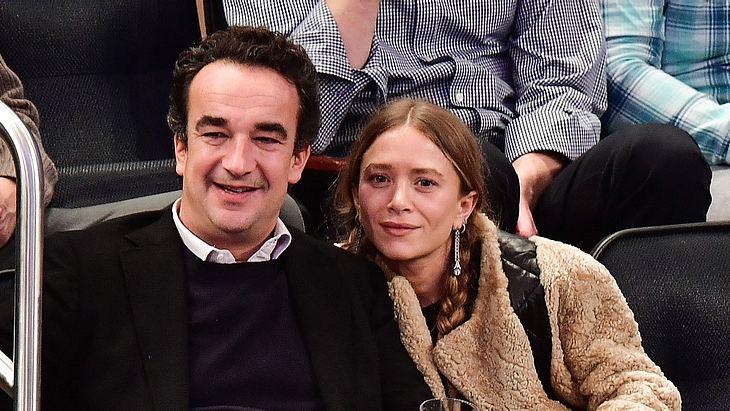 Mary-Kate mit ihrem Ehemann Olivier Sarkozy