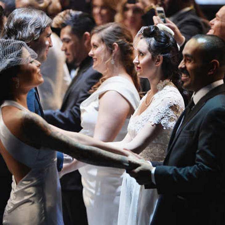 Massenhochzeit bei den Grammys 2014