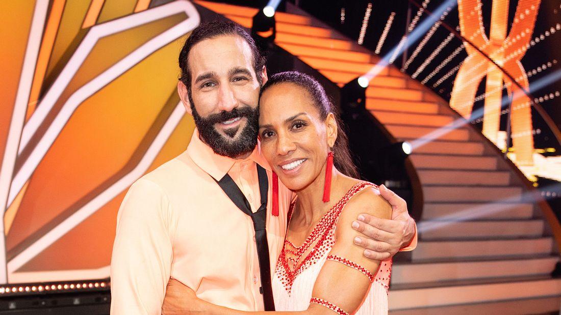 Massimo Sinato und Barbara Becker