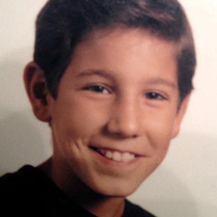 So süß war Massimo Sinato als Kind