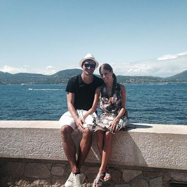 Mats Hummels und Cathy Fischer machen Urlaub in St. Tropez.
