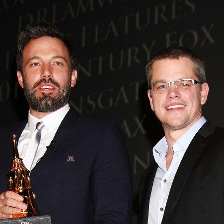 Matt Damon ist sich sicher: Ben Affleck wird ein hervorragender Batman.