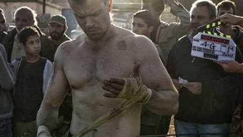 Matt Damon Bourne 5 - Foto: Twitter / Frank Marshall