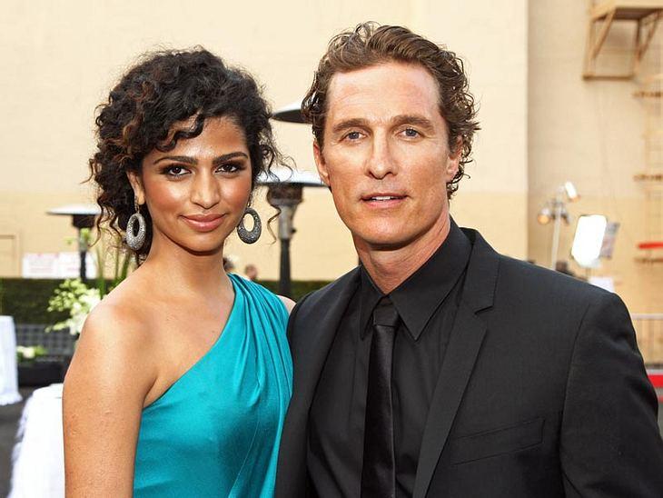 Das war ihr zweiter Streich! Matthew McConaughey und Camila Alves sind neuerdings Eltern einer kleinen Tochter
