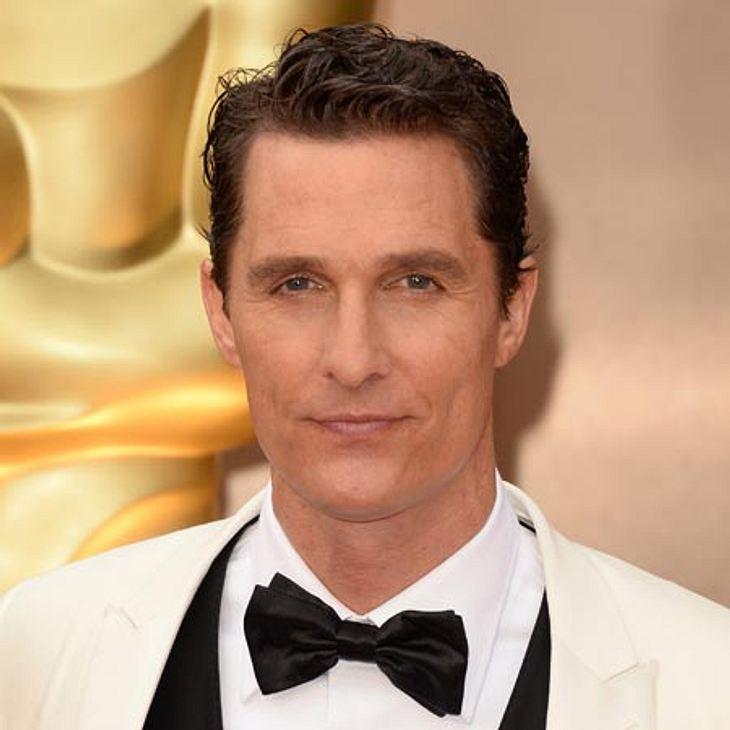 Oscar 2014: Matthew McConaughey ist der beste Hauptdarsteller