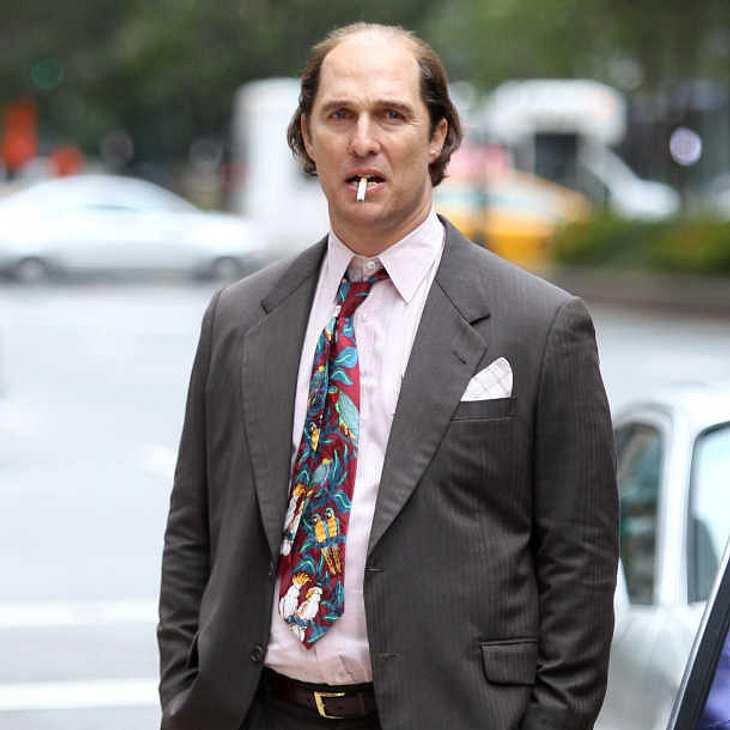 Matthew McConaughey im Lotter-Look