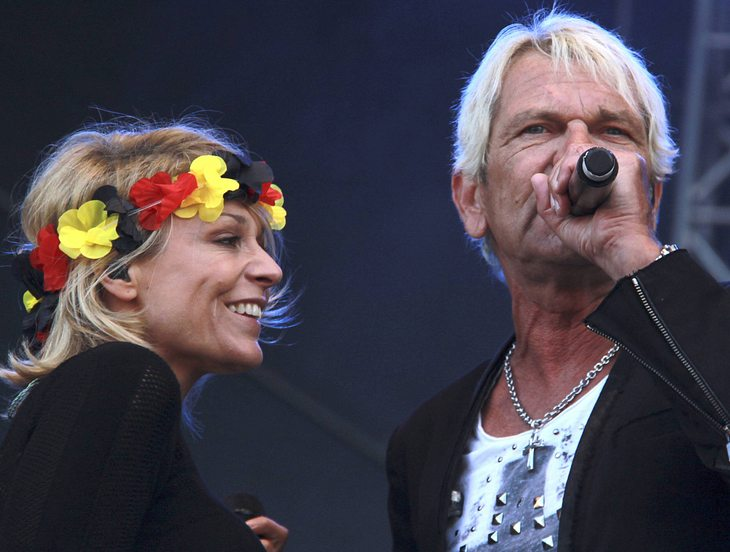 Liebes-Comeback bei Matthias Reim und Michelle?