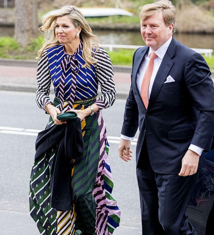 Königin Máxima & König Willem-Alexander: Schock-Auftritt