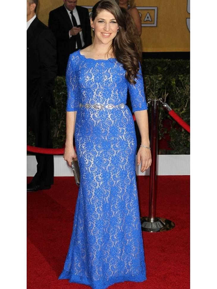 """Die """"The Big Bang Theory"""" Schauspielerin Mayim Bialik - ungewohnt stylish"""