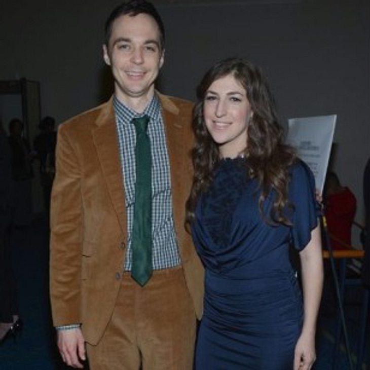 Mayim Bialik und Jim Parson