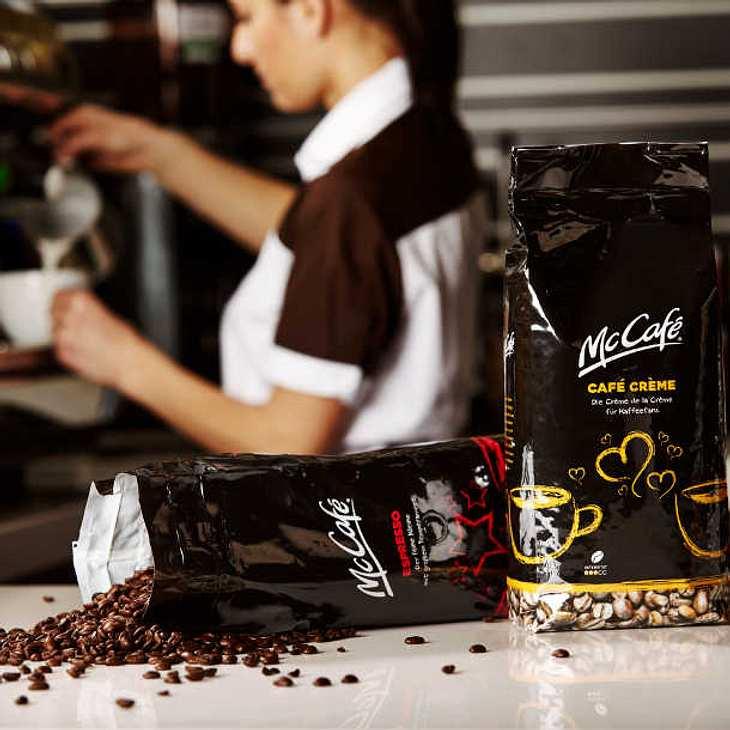 McDonald's verkauft jetzt auch Kaffee!